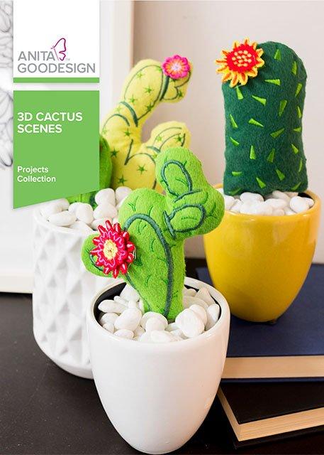 Anita Goodesign - 3D Cactus Scenes
