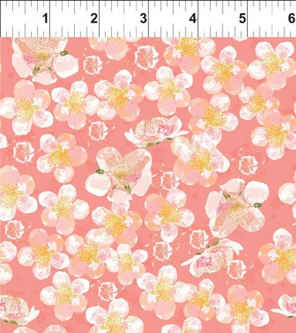 BELIEVE - SMALL FLORAL CORAL