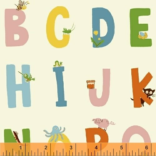 Kinder White Alphabet
