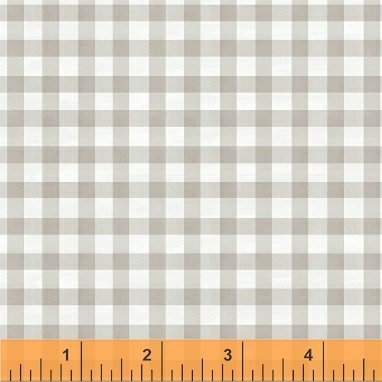 SMITTEN WITH SPRING - GRAY GINGHAM