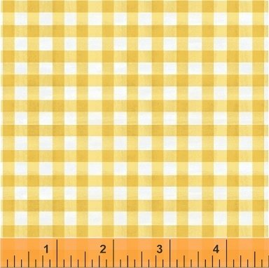 SMITTEN WITH SPRING - YELLOW GINGHAM