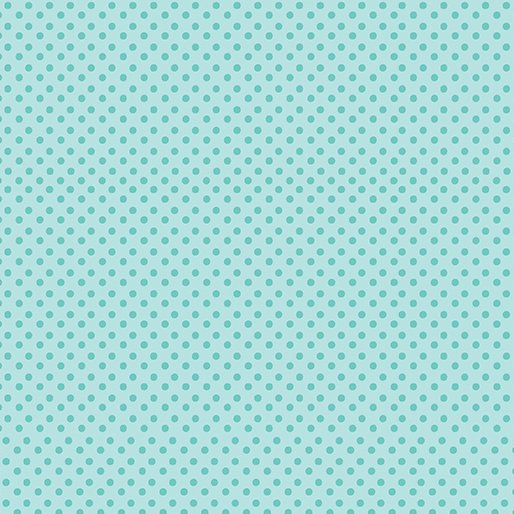 LOVE BUNNY ON THE DOT PALE TEAL