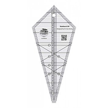 STARBURST 30 DEGREE TRIANGLE RULER