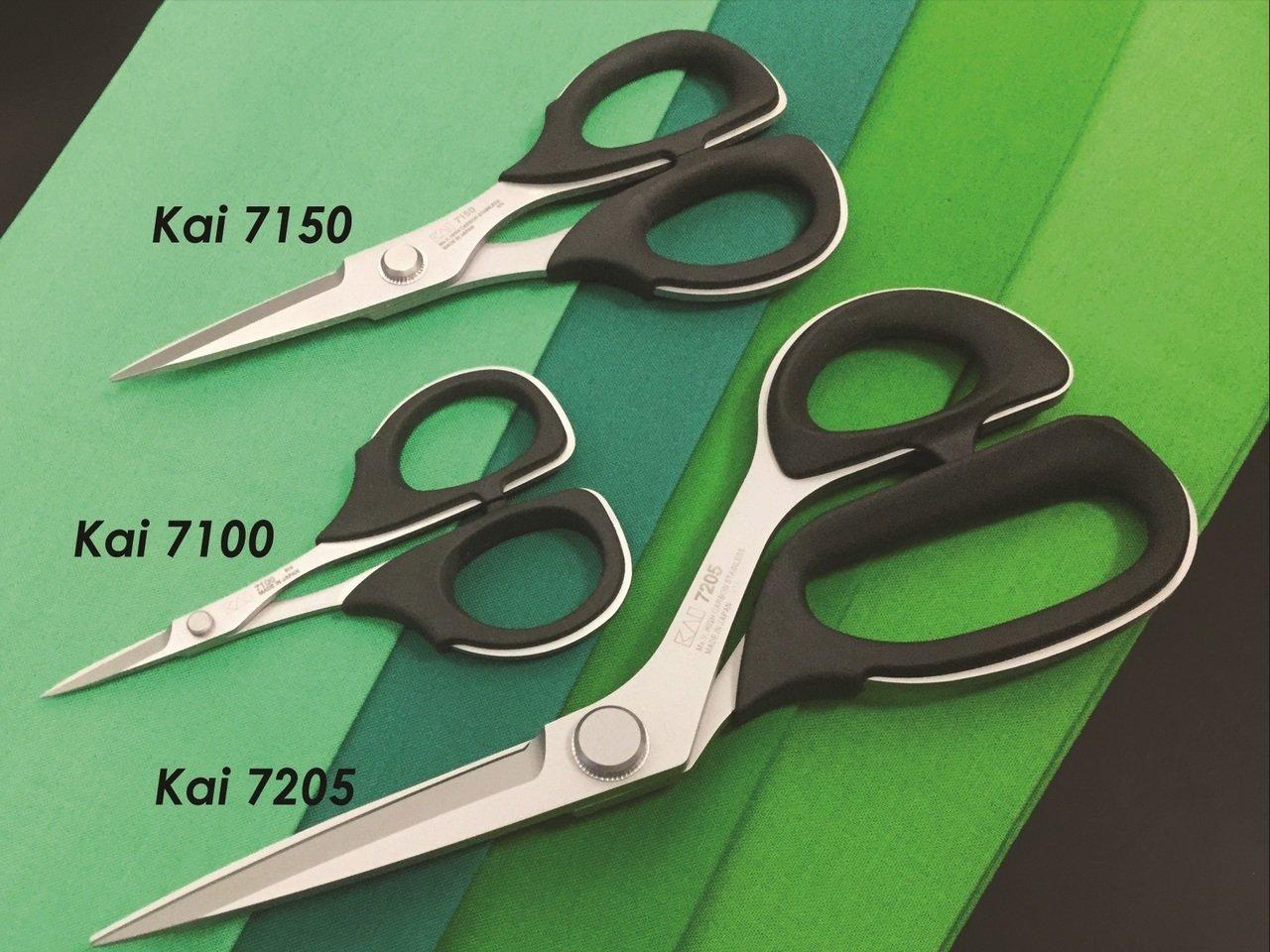 Kai 3 Piece Professional Scissor Set