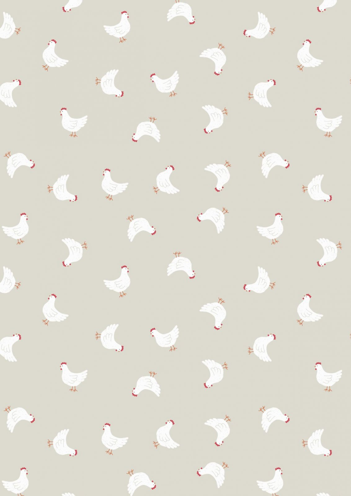 COUNTRY LIFE RELOVED LITTLE HENS ON DK CRM
