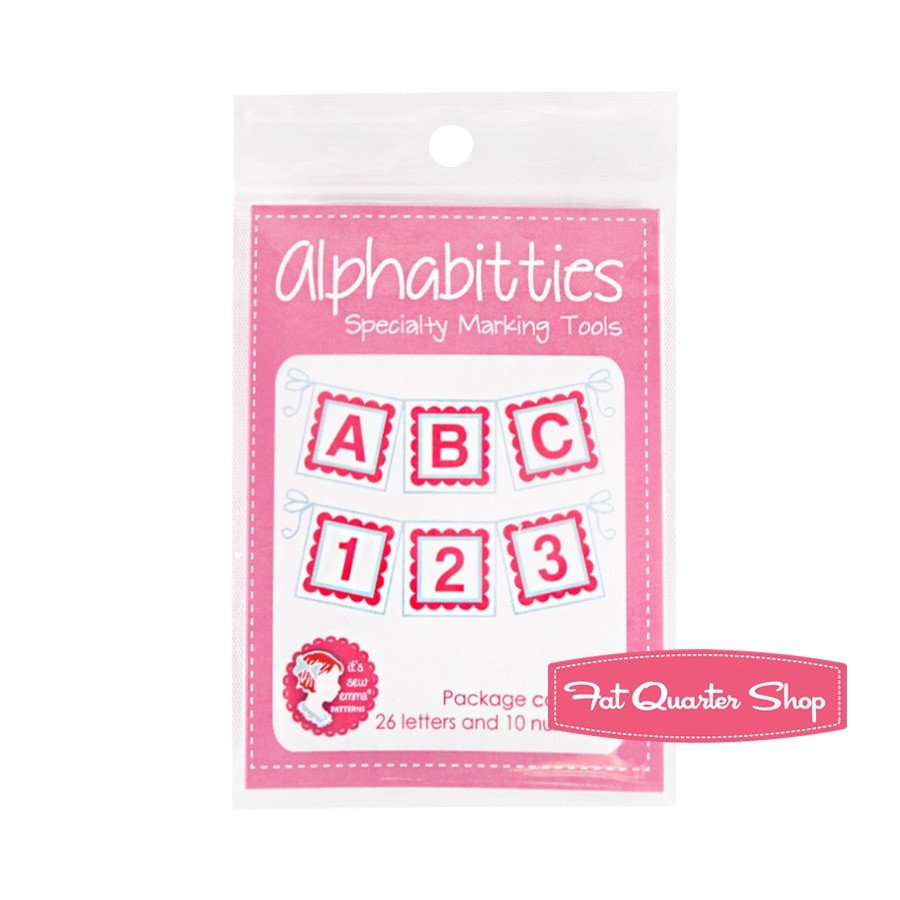 Pink Alphabitties Specialty Marking Tool