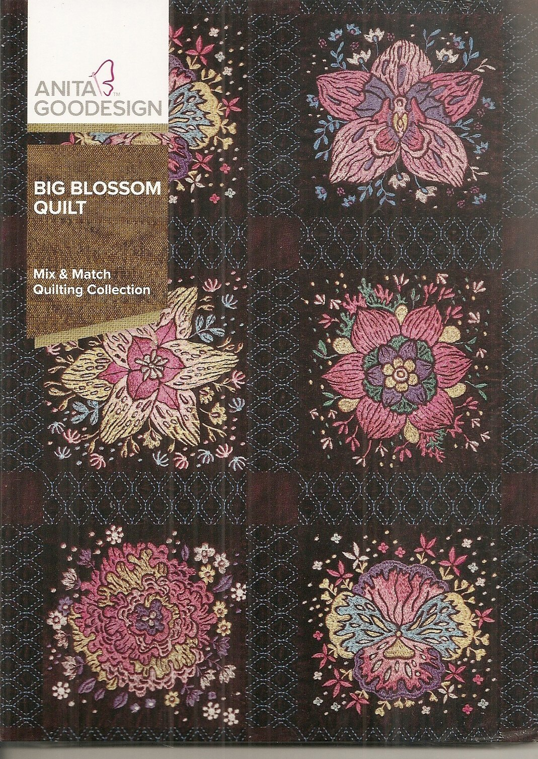 Anita Goodesign - Big Blossom Quilt