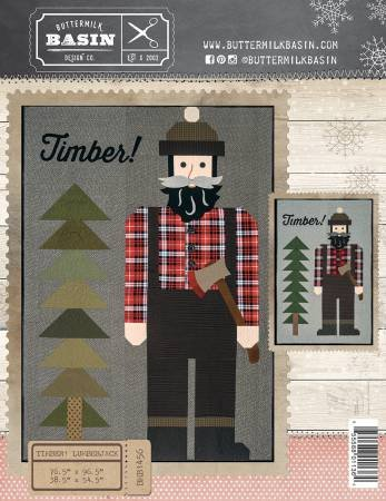 Timber! Lumberjack Quilt Pattern