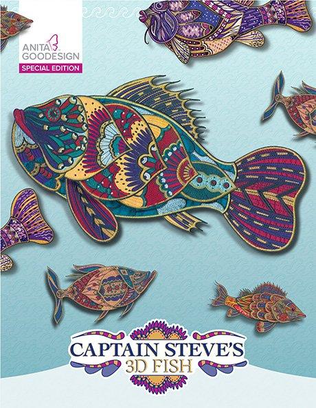 ANITA GOODESIGN - CAPTAIN STEVE'S 3D FISH SPECIAL EDITION