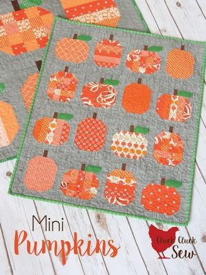 Mini Pumpkins Quilt Pattern