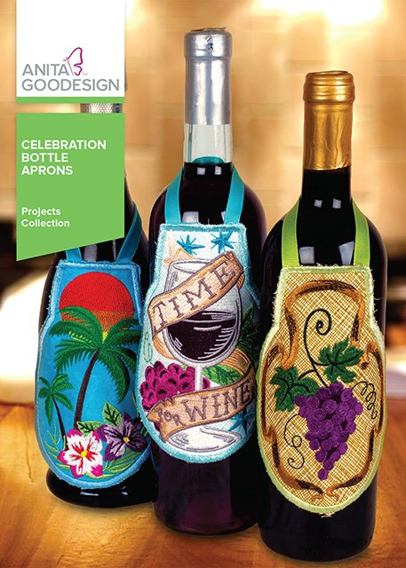 ANITA GOODESIGN - CELEBRATION BOTTLE APRONS