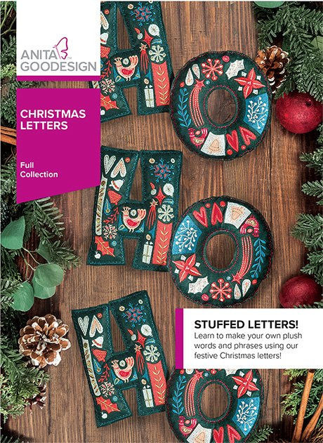 Anita Goodesign - Christmas Letters