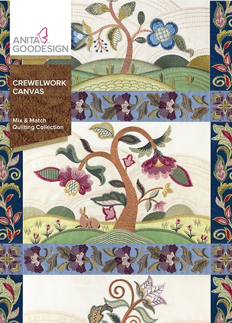 Anita Goodesign - Crewelwork Canvas