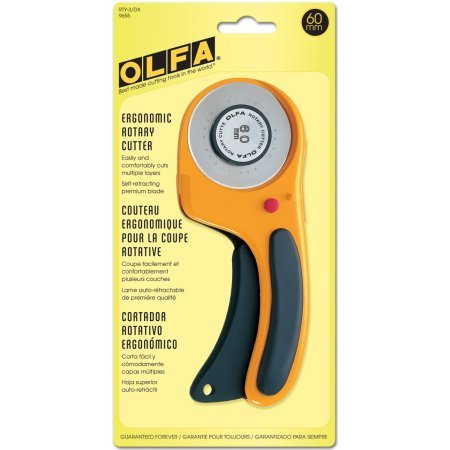 CUTTER ERGONOMIC ROTARY 60MM OLFA