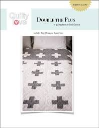 Double The Plus Quilt