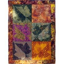 LEAF MOTEAF AND ABSTRACT SQUARES BY HOOPSISTERS