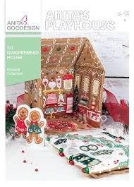 Anita Goodesign - 3D Gingerbread House