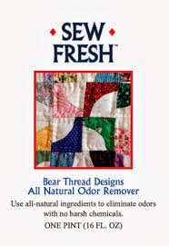 SEW FRESH ALL NATURAL ODOR REMOVER