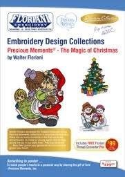 PRECIOUS MOMENTS - THE MAGIC OF CHRISTMAS