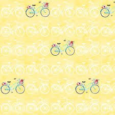 April Showers Yellow Bikes