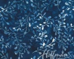 BALI BATIK - SPRIGS BLUEBERRY