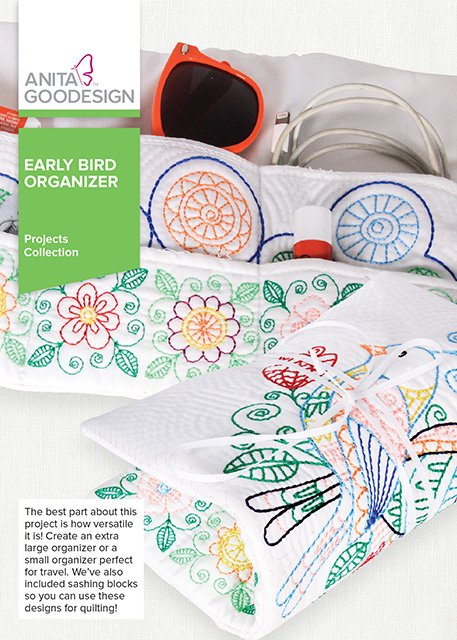 Anita Goodesign - Early Bird Organizer