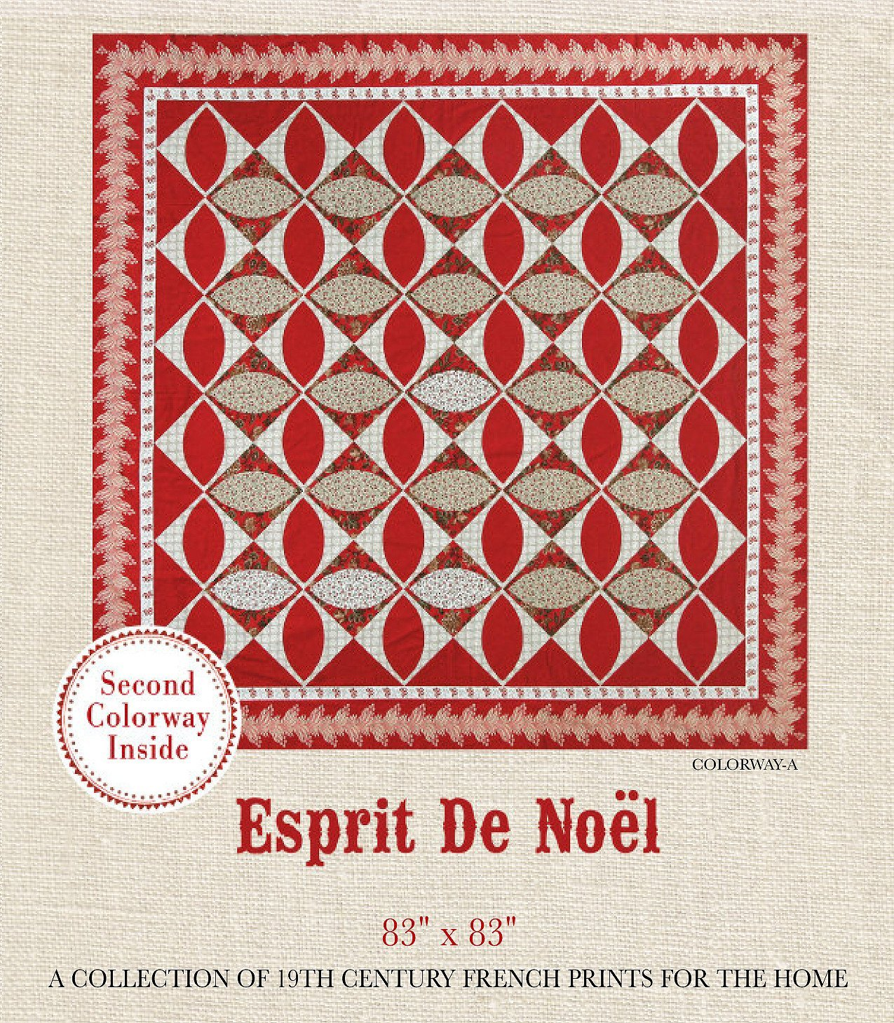 FRENCH GENERAL ESPRIT DE NOEL / PATTERN