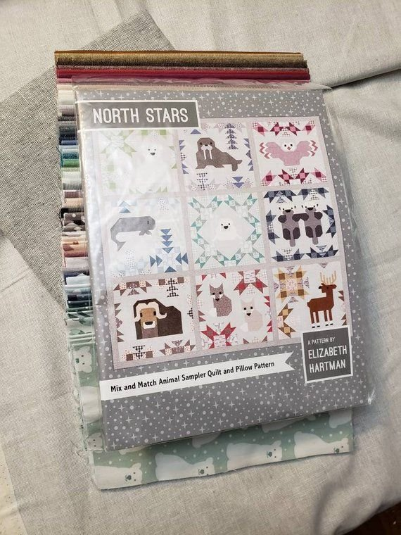 North Stars Quilt Kit