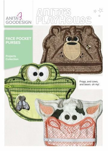 ANITA GOODESIGN - FACE POCKET PURSES
