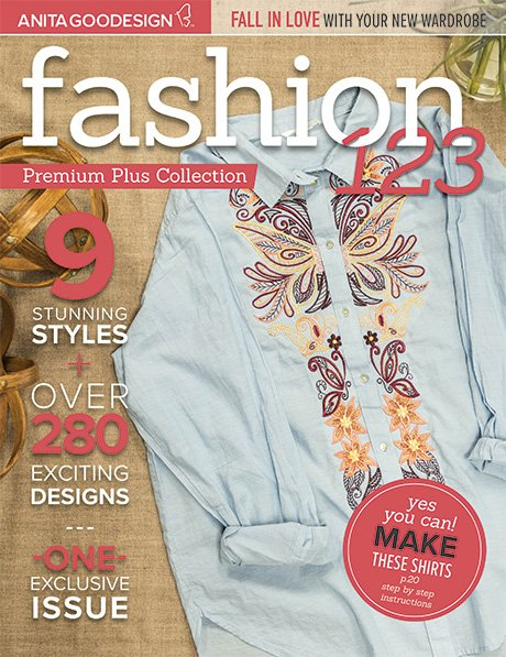 Anita Goodesign - Fashion 123 Premium Plus Collection