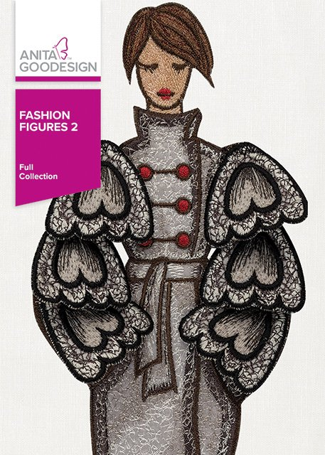 Anita Goodesign - Fashion Figures 2