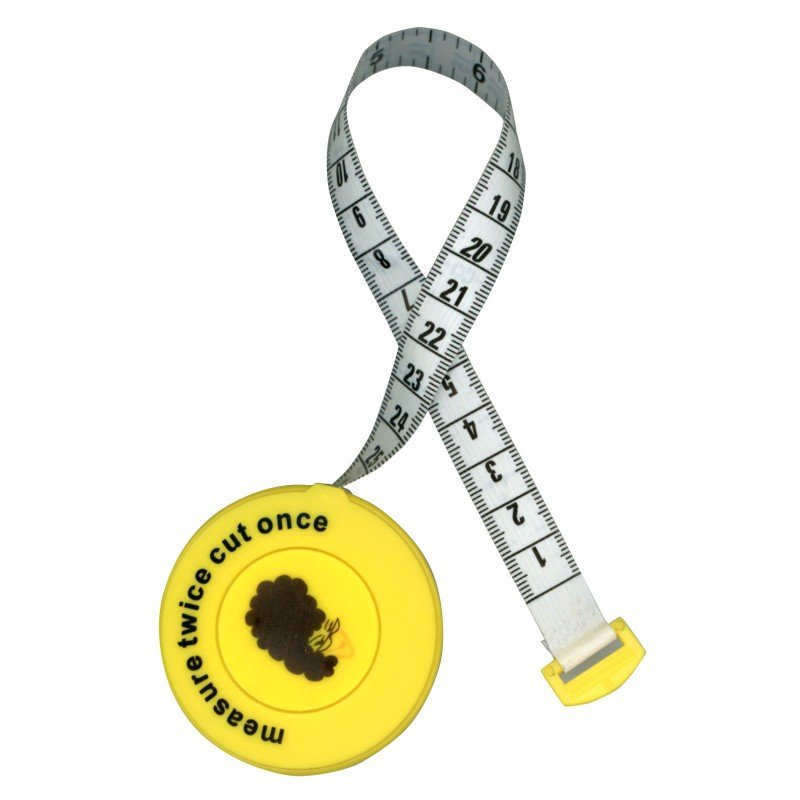 MEASURE TWICE CUT ONCE TAPE MEASURE