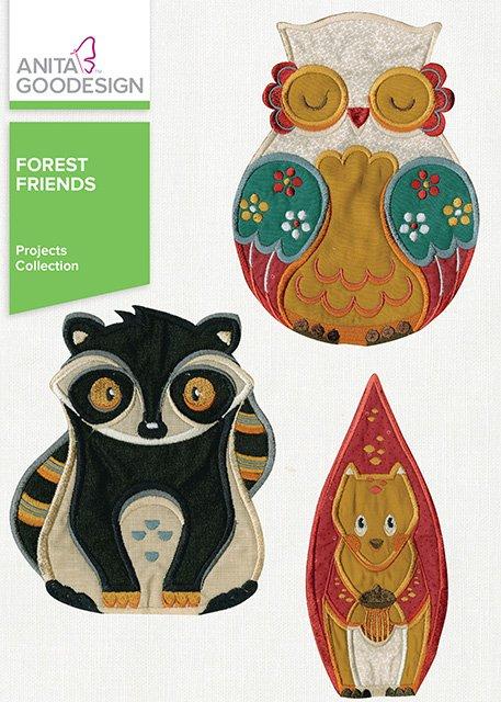 Anita Goodesign - Forest Friends