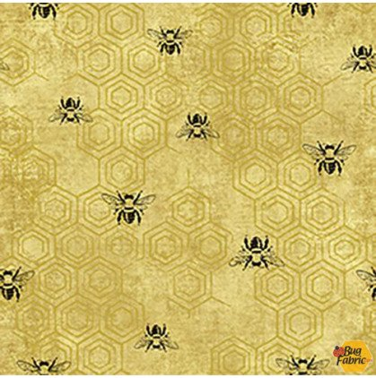 BEE KIND SPACED BEES GOLD