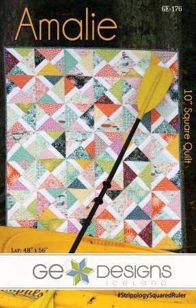 Amalie 10 Sq Quilt Pattern