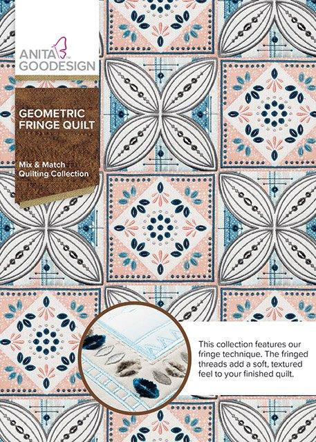 Anita Goodesign - Geometric Fringe Quilt