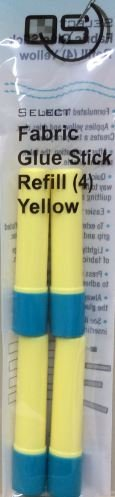 SELECT GLUE STICK REFILL YLW