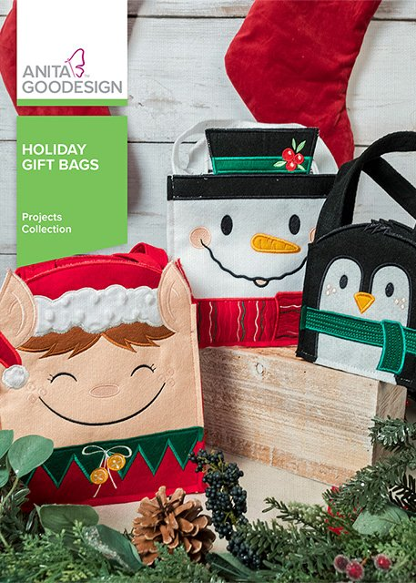 Anita Goodesign - Holiday Gift Bags