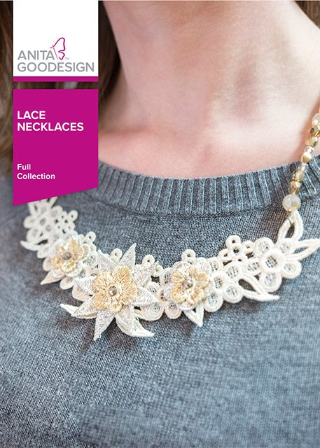 Anita Goodesign - Lace Necklaces