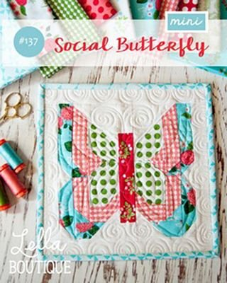 Mini Social Butterfly Quilt Pattern