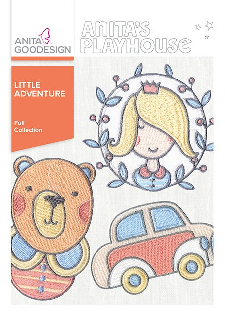 ANITA GOODESIGN - LITTLE ADVENTURE