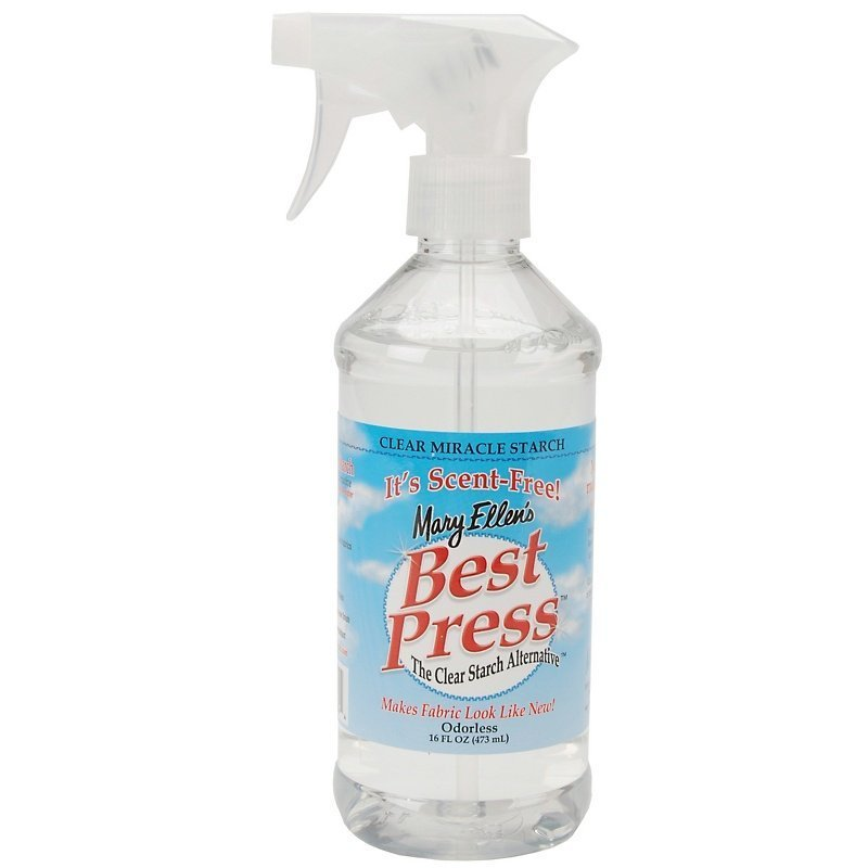 Best Press Starch Scent Free 16oz