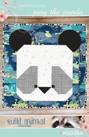 Ping The Panda Baby Blanket Quilt