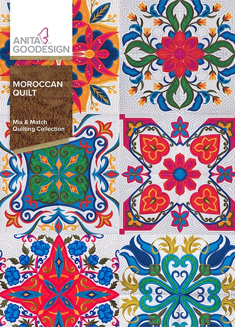 Anita Goodesign - Moroccan Quilt