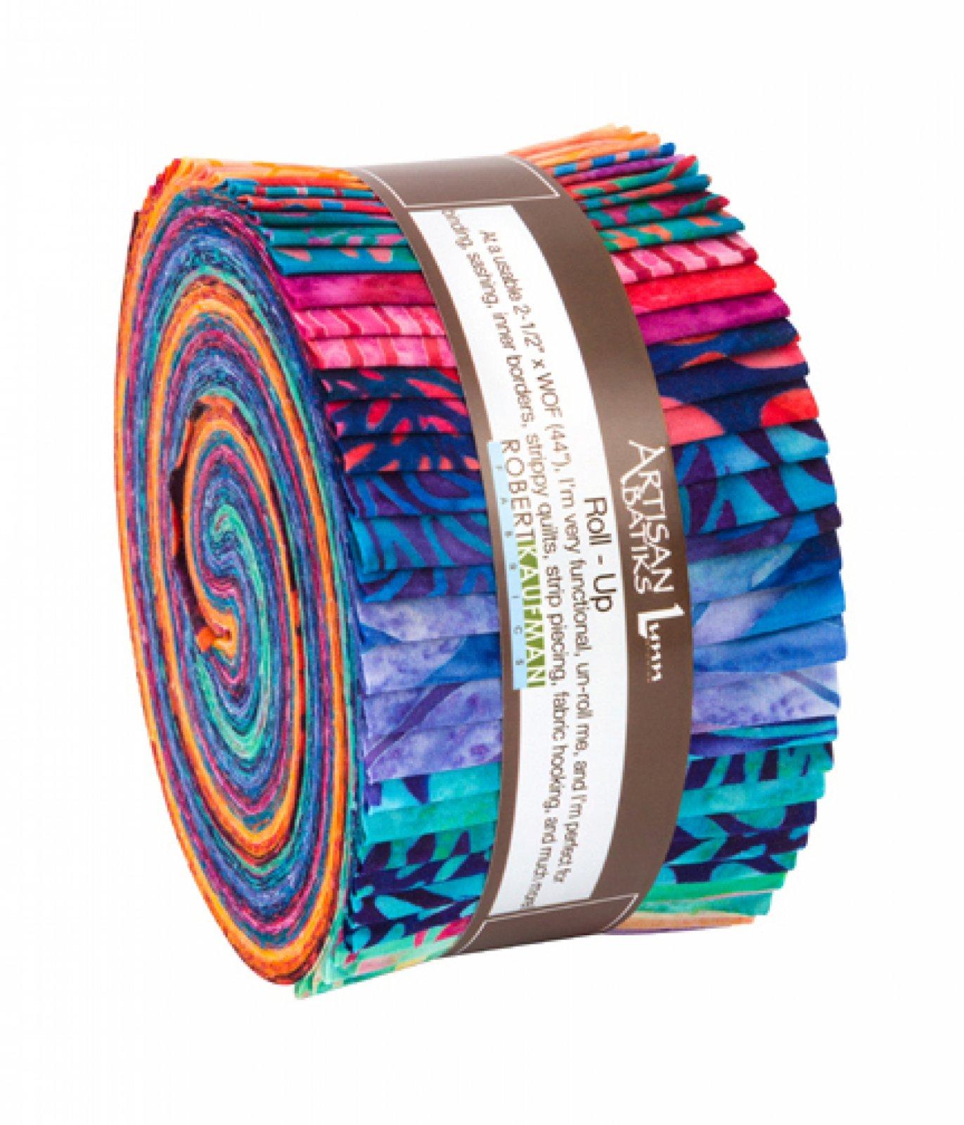 Artisan Batiks:Optical Illusion Roll Up