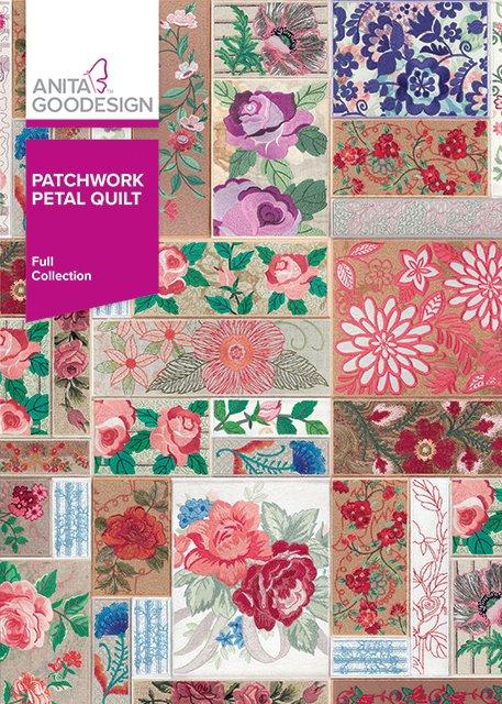 Anita Goodesign - Patchwork Petal Quilt