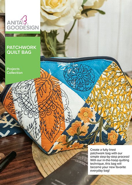 Anita Goodesign - Patchwork Quilt Bag