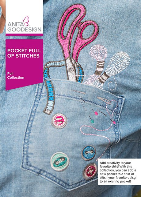 Anita Goodesign - Pocket Full of Stitches