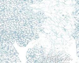 BALI BATIK - LARGE CORAL ICE