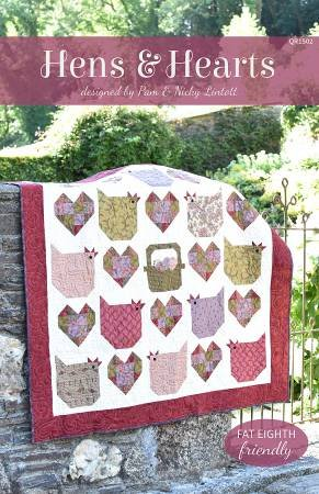 Hens & Hearts Quilt Pattern
